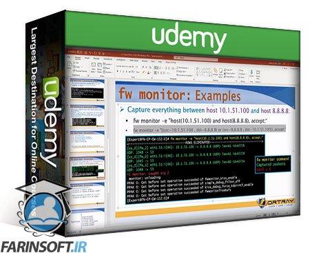 دانلود Udemy Check Point R80.40 Next Gen Firewall [CCSA & CCSE] Training